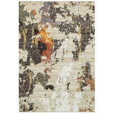 Evolution Area Rugs 5 X 8 Medium Beige Charcoal Area Rug Evolution Rc Willey
