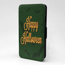 happy halloween cover photos green bats happy halloween print flip case cover for samsung