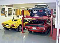 Backyard Buddy 4 Post Home Garage Lift For Cars Trucks Suvs Free Standing