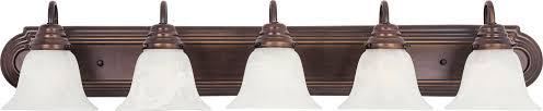 Bathroom Vanity Lights Oil Rubbed Bronze by Maxim Lighting 8015mroi Bathroom Lighting Vanity
