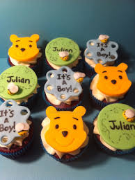 winnie the pooh babyshower cupcakes by corpse queen on deviantart