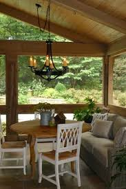 craftsman porch with vaulted wood ceiling by brian d patterson