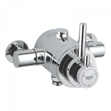 grohe avensys modern exposed shower mixer 34222