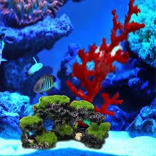 Hot Sale Resin Simulation Aquarium Mountain Coral Reef Rock Cave