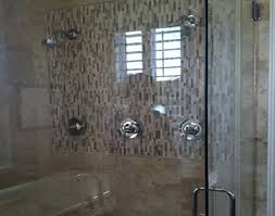 double shower heads transitional bathroom sage design ideas
