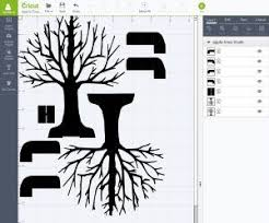 upload the pop up apple tree svg files into cricut design space