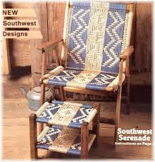 What Is A Lawn Chair Tutorial Macrame Lawn Chair Fun Projects Pinterest Lawn