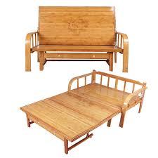 Folding Bed Sofa Multi Functional Bamboo Folding Bed Sofa Bedroom Furniture Modern