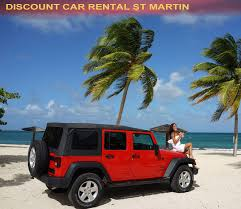 turquoise jeep car discount car rental st martin rents quality cars at low prices