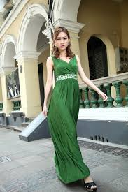 emerald green bridesmaid dress formal cocktail bead prom party