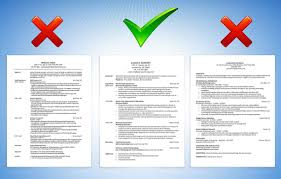 Bad Examples Of Resumes by 5 Traits Of A Resume That Will Get You Hired Careerbuilder