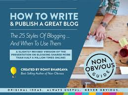 the 25 basic styles of blogging and when to use each one