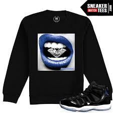 space jam sweater space jam 11 crewneck sweater match sneaker match tees shop