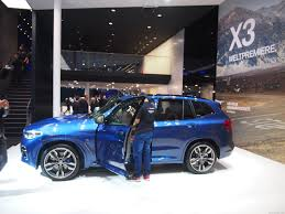 sport automatic transmission bmw bmw x3 in the flesh at frankfurt motor drive safe and fast