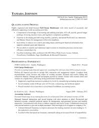 exle of resume bookkeeper resume sle