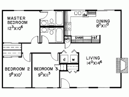 3 bedroom cabin floor plans eplans cottage house plan three bedroom cottage 1040 square
