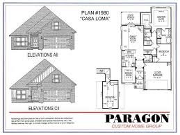 Group Home Floor Plans by Paragon Custom Home Group Floorplans