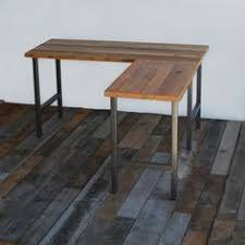 reclaimed wood l shaped desk reclaimed wood office furniture modern wood desk custom l shaped
