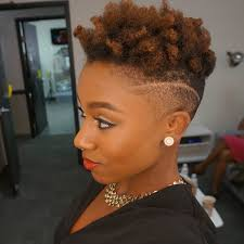fades and shave hairstyle for women 31 best short natural hairstyles for black women page 3 of 3