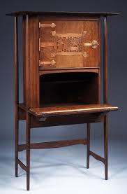 Victorian Secretary Desk by Charles Francis Annesley C F A Voysey 1857 U20131941 Writing Desk