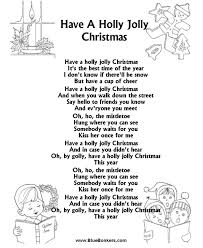 printable christmas hymns bluebonkers have a holly jolly christmas free printable christmas