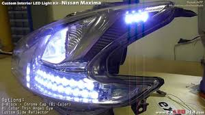 nissan maxima yahoo autos exledusa nissan maxima led custom headlight youtube