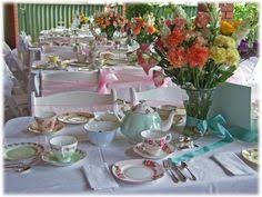 kitchen tea theme ideas baby shower tea table setting afternoon tea