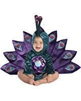 amazon precious peacock baby costume clothing
