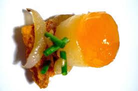 cuisine jaune d oeuf cuisine moléculaire la tortilla de patatas version 2012 avec