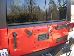jeep wrangler 4 door orange bushwacker hood u0026 tailgate protector for 2007 up jeep wrangler jk