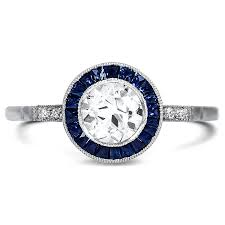 art deco diamond vintage ring asti brilliant earth