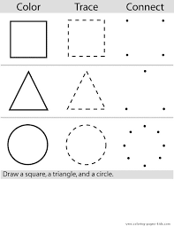 preschool color worksheets color page education coloring