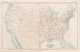 Highway Map Of The United States by File United States System Of Highways Adopted For Uniform Marking