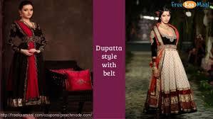 Ways To Drape A Dupatta Freekaamaal Innovative Ways To Drape A Dupatta