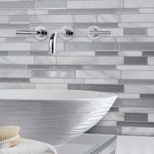 peel and stick backsplashes for kitchens tile backsplashes tile the home depot
