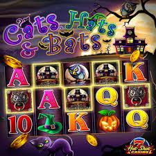 free halloween slots halloween is year round with cats hats u0026 bats hotshotcasino
