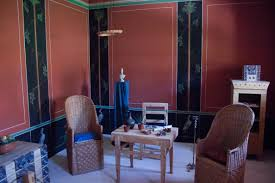 file reconstructed roman living room in the painting house jpg