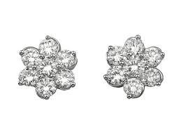 flower stud earrings jewelry