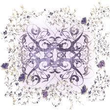 sweet violet minimalist digital by georgiana romanovna