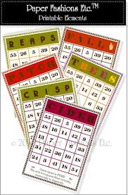Halloween Bingo Printable Cards Printable Harvest Bingo Cards 9jasports
