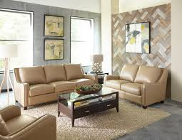 denver 1636 leather sofa in camel in stock fast sofas and sectionals