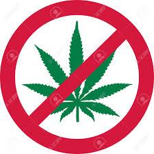 Dope American Flag No Marijuana Dope Forbidden Royalty Free Cliparts Vectors And