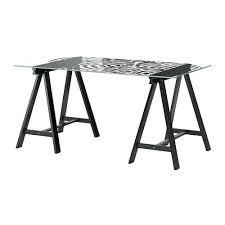 table de bureau en verre d licieux bureau plateau verre ikea table blanc beraue agmc dz