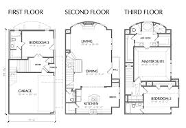 remarkable townhouse house plans contemporary best inspiration