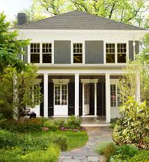 Exterior Color Trends 2017 by Exterior Paint Ideas For A Modern American Foursquare House Plans