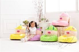 2018 fruit cartoon pig baby children sofa sofa cute little baby