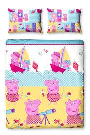bed u0026 bath peppa pig nautical duvet set double