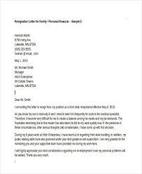 36 sample resignation letter templates free u0026 premium