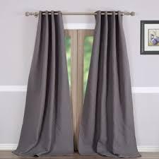 Brown Blackout Curtains 132 Inch Curtains Wayfair