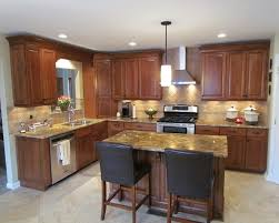 modern l shaped kitchen with island l shaped kitchen with island design railing stairs and kitchen design